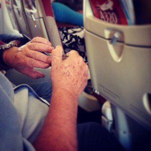 Краса вимагає жертв пасажирів